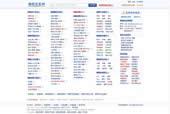 朝阳信息网模板高仿58同城/百应网最新版