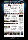 黑色酷游戏下载网站模板
