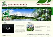 简洁大气房地产网站模板
