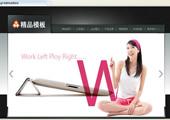 中英文酷黑,个性企业模板升级版