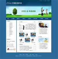 精美大气的企业网站模板